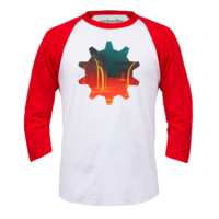 Welovefine:Heat and Clockwork Baseball Tee