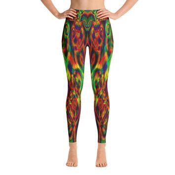 Trippy Yoga Leggings