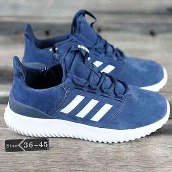 Adidas Neo CLOUDFOAM ULTIMATE Fashion Casual Sport Running Sneakers Shoes Blue G-SSRS-CJZX