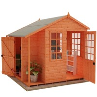 Tiger Multi Store Wood Shed 8x8