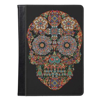 Flower Sugar Skull iPad Air Case