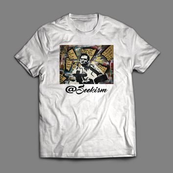 SEEKISM JOHNNY CASH POP ART T-SHIRT
