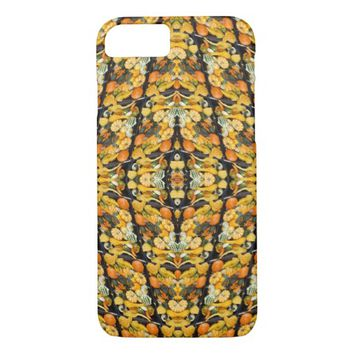 Pumpkins, Squash, and Gourds - Abstract iPhone 7 Case