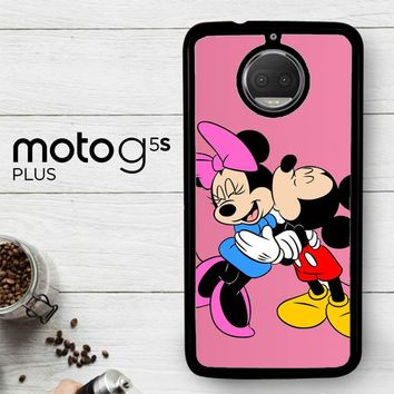 Romantic Mickey And Minnie Mouse Z1357  Motorola Moto G5S Plus Case