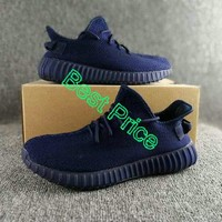 Purchase ADIDAS YEEZY BOOST 350 V2 SAMPLES IN MIDNIGHT BLUE new sneaker