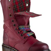 Dr. Martens Aimilie Lace-up Boot Cherry Red Leather - Jildor Shoes, Since 1949