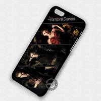 Vampire Diaries Elena Gilbert Damon Salvatore tefan Salvatore - iPhone 7 6 5 SE Cases & Covers
