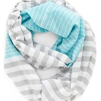 Women's Michael Stars 'Mixed Maritime' Infinity Scarf