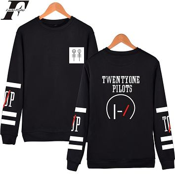 Twenty One Pilots Hoodies Capless Women Autumn Designer Hip hop 21 Pilots Sweatshirt Men Hooded Kpop Casual Spring LUCKYFRIDAYF