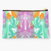 'Summer Flora' Studio Pouch by mirimo