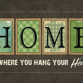 Home is Where You Hang Your Heart Doormat