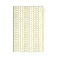 "Julie Hamilton ""Lemon Pod"" Yellow Gray Everything Notebook"