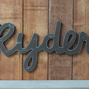 Ryder Baby Name Wooden Sign Rustic Nursery Decor Jpg 354x354 Signs Wood
