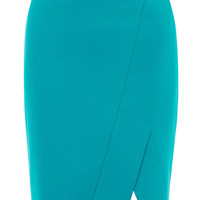 Wrap pencil skirt | Luxury Women's skirts | Karen Millen