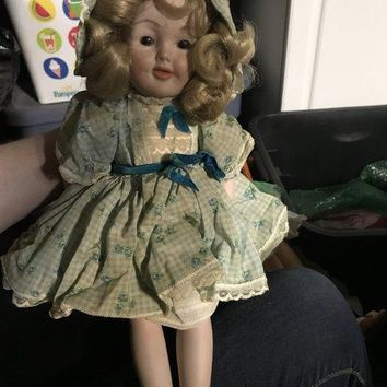 Antique porcelain collectible doll