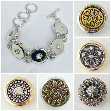 Snap charms that fit Noosa or Ginger Snaps Jewelry. 18-20 mm snaps will fit other brands of snap jewelry. Free Shipping
