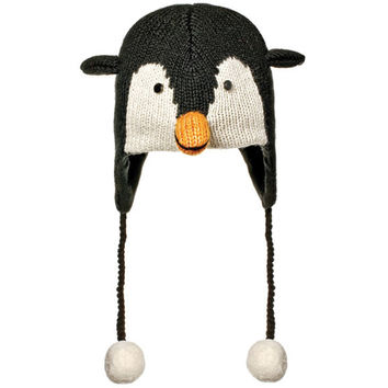 Peppy The Penguin Kids Peruvian Knit Hat