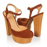 Ankle Strap Platforms