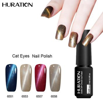 Huration Magnetic Cat Eyes UV Gel Nail Polish LED Soak Off Gel Lacquer All for Nails 24 Colors Hot Sale Color UV Gel Varnish