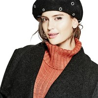 Embellished Beret at Guess