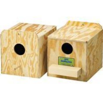 Ware Mfg. Inc. Bird/sm An - Love Bird Nest Box
