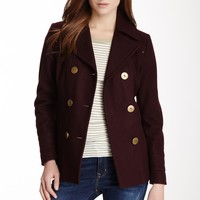 Kenneth Cole | Kenneth Cole New York Double Breasted Wool Blend Coat | Nordstrom Rack