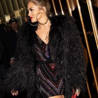 Balmain afterparty celebrity style luxury dress