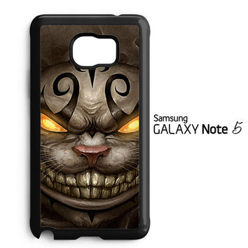 Alice Madness Returns Cheshire Cat Z0999 Samsung Galaxy Note 5 Case