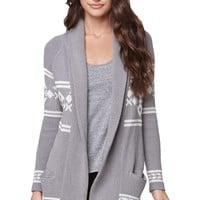 LA Hearts Shawl Collar Cardigan - Womens Sweater