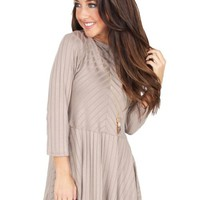 Bottle It Up Top in Stone | Monday Dress Boutique
