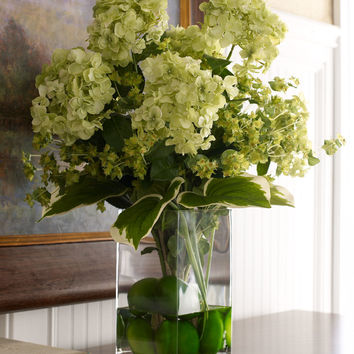 Classic Greens Faux Floral - John-Richard Collection