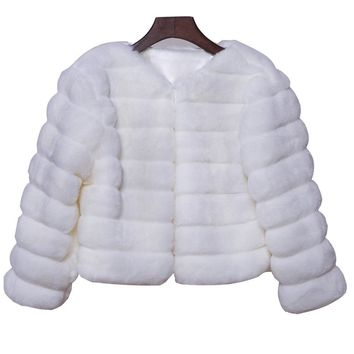 In Stock Wedding Accessory Faux Fur Black White Custom Made Bridal Coat Wedding Bolero Stoles Jacket Shrug Wraps LF31