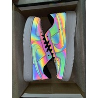 Nike Air Force 1 Chameleon Laser Trending Personality Casual Running Sport Shoes Sneakers