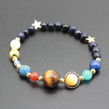 Universe Galaxy the Eight Planets in the Solar System Guardian Star