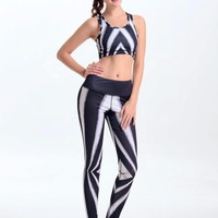 New Professional Women Yoga Sets Sports Bras &Pants Super Stretch Elastic Waist Yoga Suit Running Fitness GYM Dancing Quick Dry