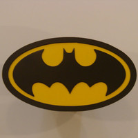 Batman Super Hero 16 Gauge Steel Double Layered Trailer Hitch Cover
