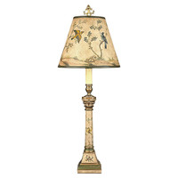 Belle Song Table Lamp, Green/Gold Leaf, Table Lamps