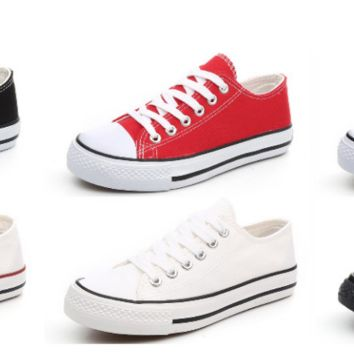 Summer sneakers with a converse look in 6 colors!!