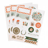 Holiday Stickers and Labels by Rifle Paper Co.