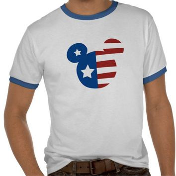 Patriotic Mickey Mouse Shirts from Zazzle.com