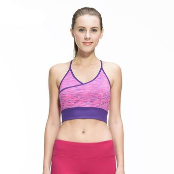 Women Fitness Sexy Yoga Sports Bra for Running Sports