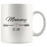 Which one is for you? - Mommy Est. 2019 Coffee Mug | New Mom Gift