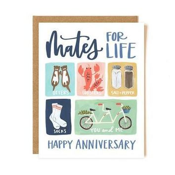 Mates for Life Card