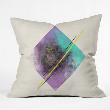 Allyson Johnson Color Explosion 2 Throw Pillow