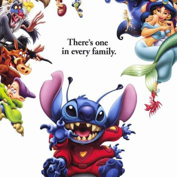 Lilo & Stitch 27x40 Movie Poster (2002)