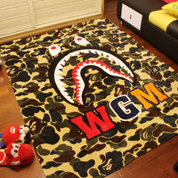 Camo Shark Home Office Blanket Air Conditioning Bedsheet