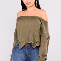 Zula Sweater - Olive