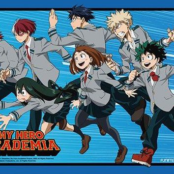 My Hero Academia Key Art 3 High-End Wall Scroll