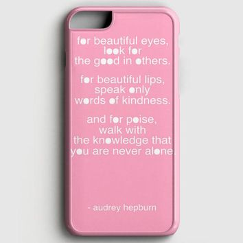 Audrey Hepburn Breakfast At Tiffany iPhone 7 Case