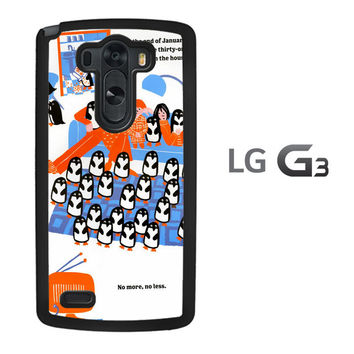 365 penguins book Y1987 LG G3 Case